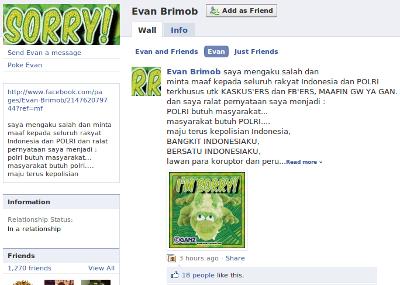 facebook-permintaan-maaf-evan-brimob-051109
