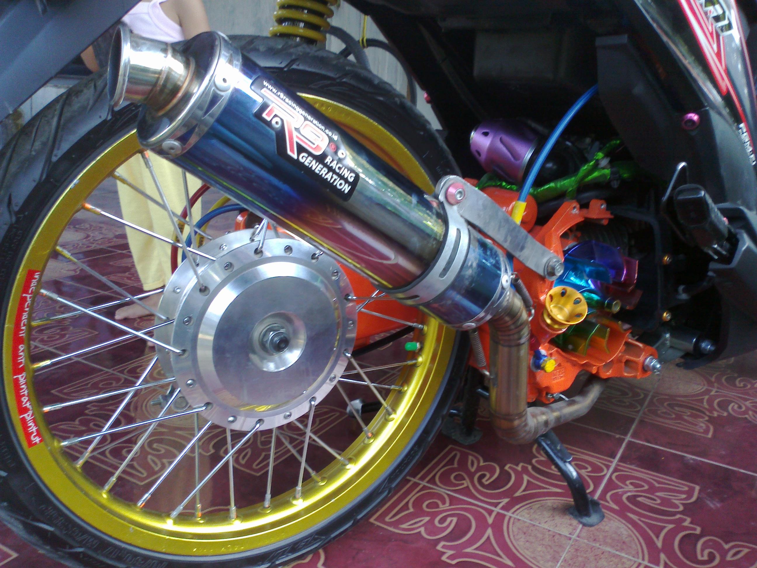 Aksesoris Untuk Modifikasi Motor Beat Semut Modifikasi