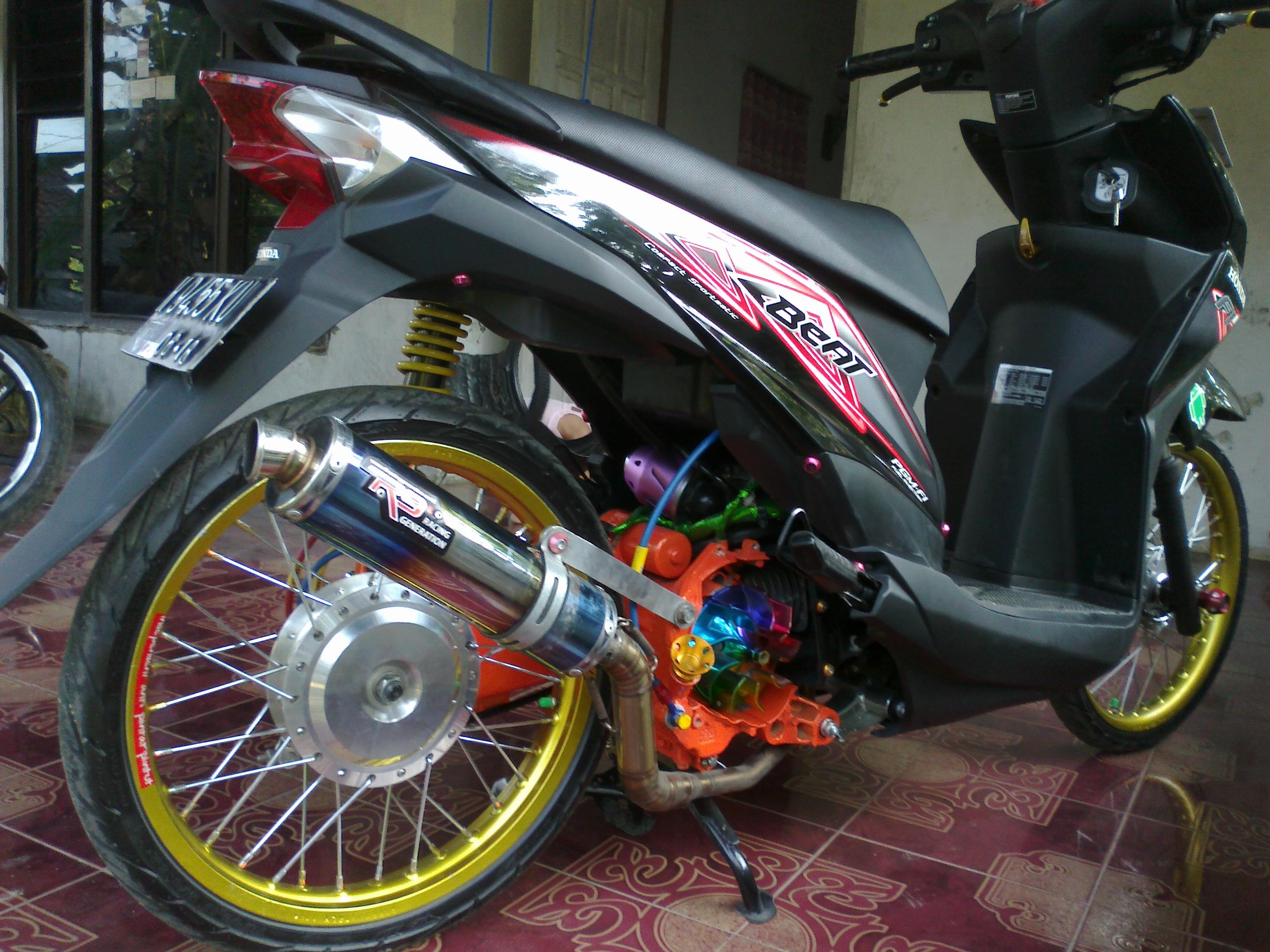 Gambar Modifikasi Sepeda Motor Honda Beat Kumpulan Modifikasi