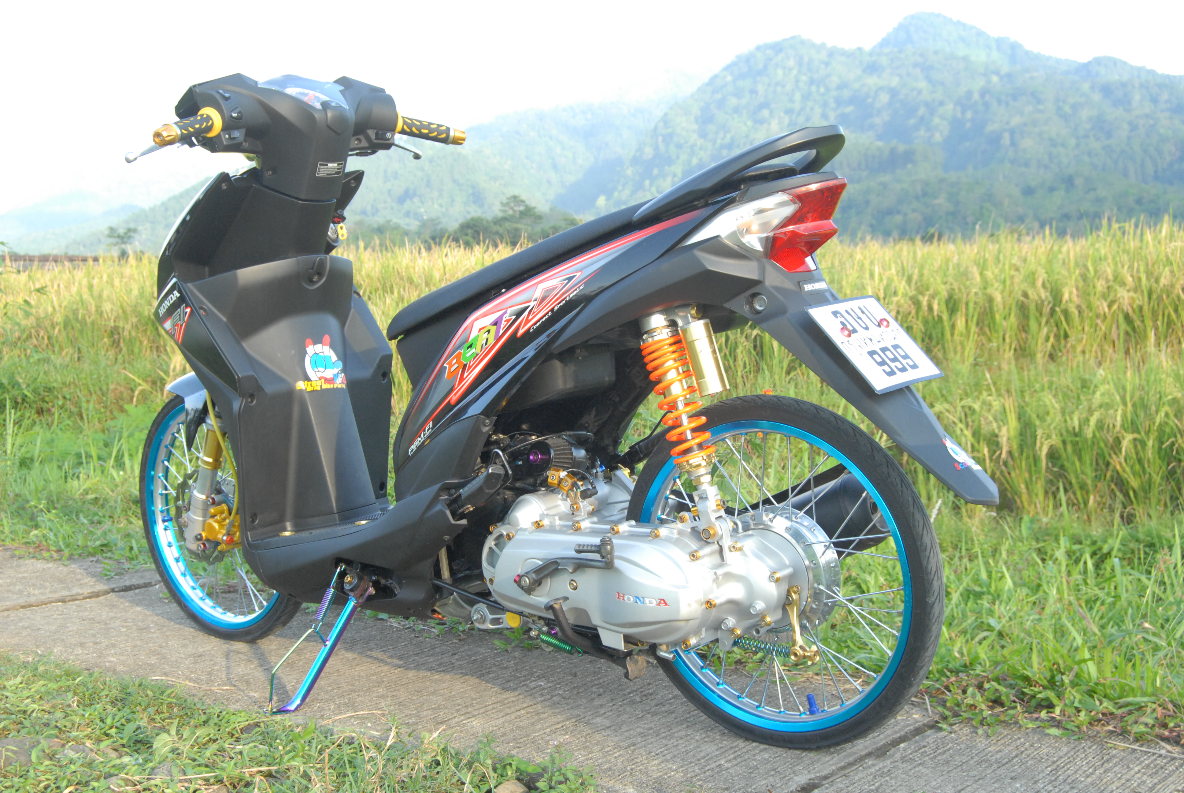 88 Foto Modifikasi Sepeda Motor Beat TeaModifikasi