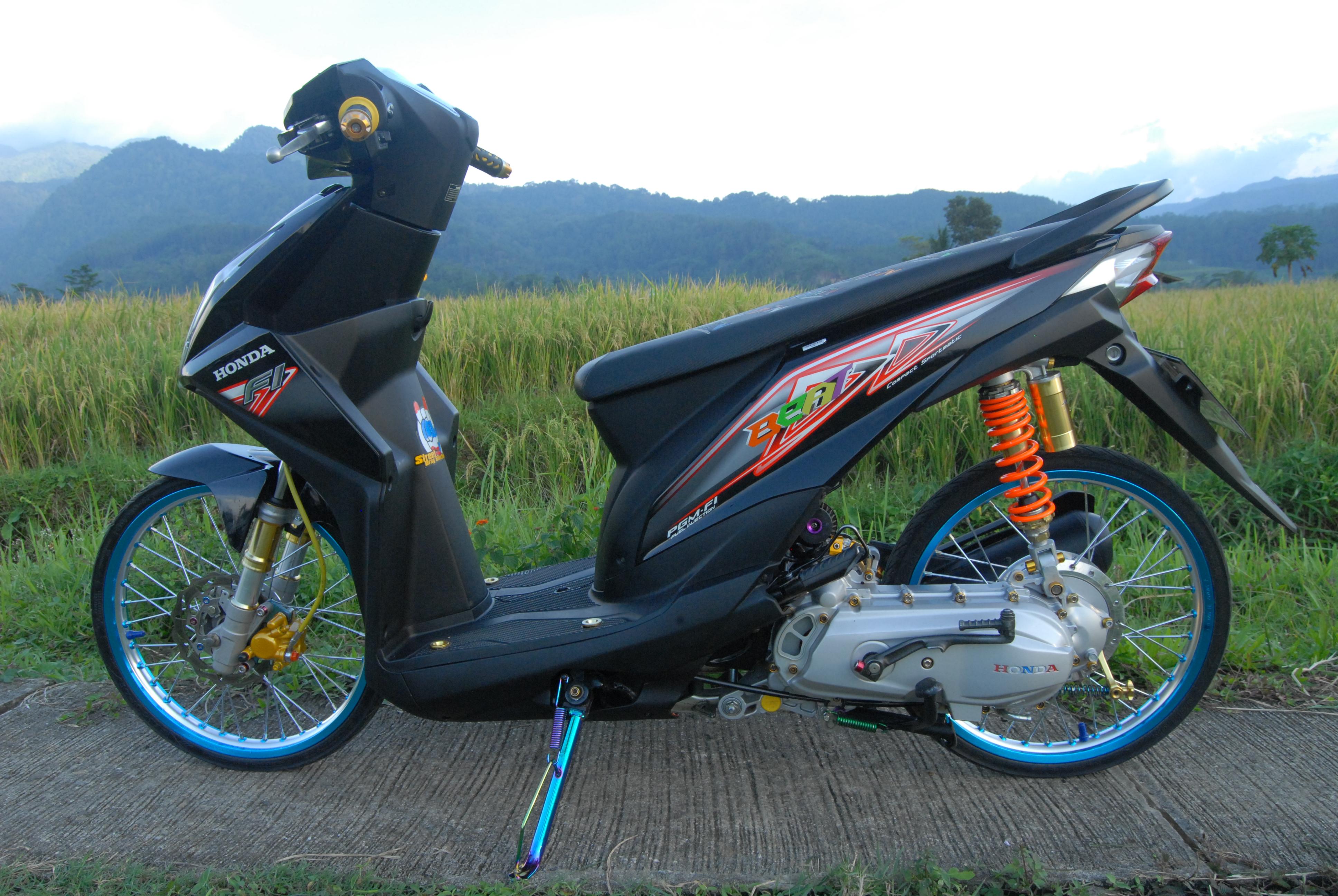 Gambar Modifikasi Motor Honda Beat Injeksi Mobiliobaru
